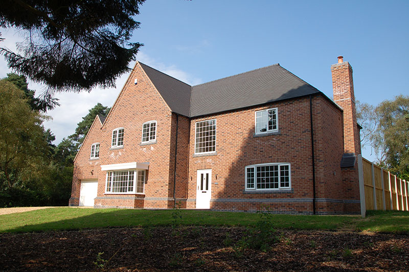 Residential new build, Staffordshire